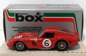 【送料無料】模型車 スポーツカー ボックスモデル143ダイカスト8401フェラーリgto6 1962box model 143 scale diecast 8401 ferrari gto 6 1962
