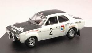 【送料無料】模型車 スポーツカー フォードエスコートマンラリークラークtfモデルford escort rs 1600 n2 winner manx rally 1971 clark 143 trofeu tf0547 model