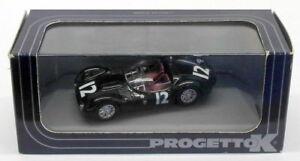 【送料無料】模型車 スポーツカー progetto k 143ダイカスト027マセラッティt6012ナッソー1959progetto k 143 scale diecast 027 maserati birdcage t60 12 nassau 1959