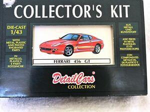 【送料無料】模型車 スポーツカー detail collectors kit ferrari 456gt1992art 5018 aud7000 rare itemdetail collector's kit ferrari 456gt 1992 art 5018 aud700