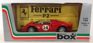 【送料無料】模型車 スポーツカー ボックスモデル143ダイカスト8447aフェラーリp214 provabox model 143 scale diecast 8447a ferrari p2 14 prova red