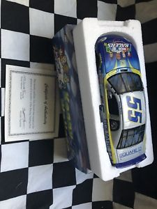 【送料無料】模型車 スポーツカー 19992ケニーウォーレスdnascar124サインwcoa1999 kenny wallace square d nascar racers 124 dual autographed wcoa