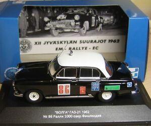 【送料無料】模型車 スポーツカー ヴォルガgaz 21vvm1000フィンランドistvolga gaz 21 rally 1000 lakes finland ist for vvm limited edition
