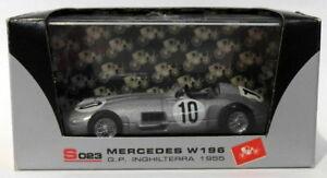 【送料無料】模型車 スポーツカー brumm 143ダイカストs023メルセデスw196gp inghilterra 195510ファンヒオbrumm 143 scale diecast s023 mercedes w196 gp inghilterra 1955 10 f