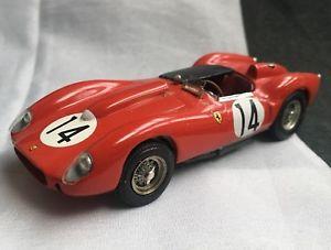 【送料無料】模型車 スポーツカー le フェラーリルマンホワイトメタルprecision 1958 minatures tr 143 hand built ferrari 250 tr le mans 1958 win white metal, きものネット商会:223b8441 --- mail.ciencianet.com.ar