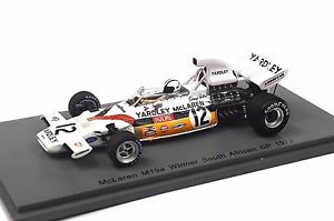 【送料無料】模型車 スポーツカー mclaren m19a 1st south african gp1972denis hulme 143 spark s4292 resin mclaren m19a 1st south african gp 1972 denis hulme