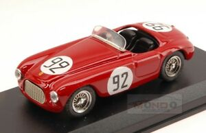 【送料無料】模型車 スポーツカー フェラーリ225 s92 2nd gpモナコ1952ecastellotti 143モデルart092モデルferrari 225 s 92 2nd gp monaco 1952 ecastellotti 143 art model art09