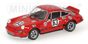 【送料無料】模型車 スポーツカー ポルシェカレラレースルマンロースバルト143 porsche 911 carrera rsr 28  gelo racing le mans 24 hrs 1973 loos barth