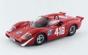 【送料無料】模型車 スポーツカー abarth 2000sトリエステopicina 1969fpilone418143 be9554モデルabarth 2000 s triesteopicina 1969 f pilone 418 winner best 143 be9554