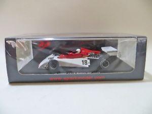 【送料無料】模型車 スポーツカー スパークイギリスブレットspark s4007 surtees ts19 f1 car british gp 1976 brett lunger 143 mib