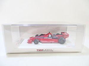 【送料無料】模型車 スポーツカー ブラバムアルファロメァンスウェーデンジョンワトソン#tsm brabham bt46 alfa romeo f1 fan car swedish gp 1978 john watson 2 143