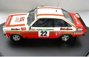 【送料無料】模型車 スポーツカー フォードエスコートラリーカーバカンクネンtrofeu 1020 1805 1807 ford escort mkii rally cars silva beauchef kankkunen143