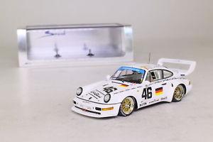 【送料無料】模型車 スポーツカー スパークポルシェターボルマンspark s1931; porsche 911 turbo s lm; 1993 24h le mans; rn46; excellent boxed