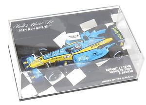 【送料無料】模型車 スポーツカー ルノーチームシーズンフェルナンドアロンソ143 renault f1 team 2004 season showcar    fernando alonso