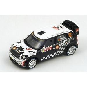 【送料無料】模型車 スポーツカー 143ジョンクーパーミニwrc galpモンテカルロラリー2012aaraujo143 john cooper works mini wrc galp fuel  monte carlo rally 2012 aaraujo