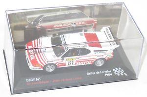 【送料無料】模型車 スポーツカー 143bmw m1 motulラリーdeロレーヌ1984bbeguin143 bmw m1 motul rallye de lorraine 1984 bbeguin