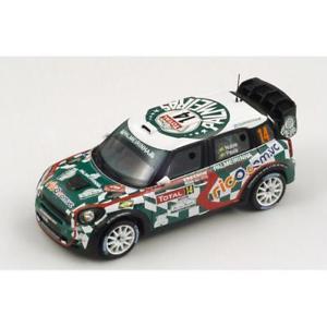 【送料無料】模型車 スポーツカー 143ジョンクーパーミニwrc palmerasモンテカルロラリー2012 pnobre143 john cooper works mini wrc palmeras monte carlo rally 2012 pnobre