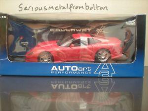【送料無料】模型車 スポーツカー キャロウェイ listingautoart 71012 callaway c12 red 118