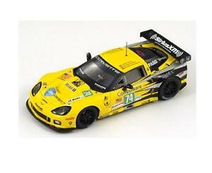 【送料無料】模型車 スポーツカー スパークシボレーコルベットコルベットレーシングルマンspark s2542 143 chevrolet corvette c6 zr1 74 corvette racing le mans