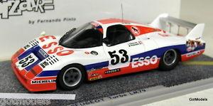 【送料無料】模型車 スポーツカー 143bz389 wm p79ターボプジョー53ルマン1979モデルカーbizarre 143 scale bz389 wm p79 turbo peugeot 53 le mans 1979 resin model car