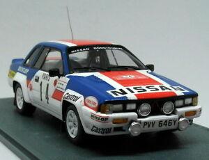 【送料無料】模型車 スポーツカー スケールルピーモンテカルロラリーモデルカーbizarre 143 scale bz334 nissan 240rs monte carlo rally 1984 resin model car