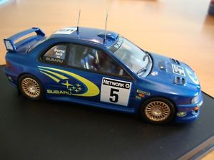 【送料無料】模型車 スポーツカー trofeu 1116スバルimpreza wrc99rac1999r143trofeu 1116 subaru impreza wrc 99 winner rac rally 1999 r burns 143 scale rare