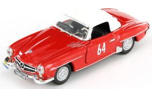 【送料無料】模型車 スポーツカー メルセデス#ツールドフランスmercedes 190 sl 64 tour de france 1956 143
