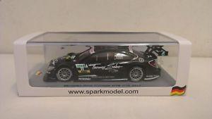 【送料無料】模型車 スポーツカー スパークメルセデスベンツクラスクーペ#ゲイリーパフェットスケールシングルspark mercedesbenz ccoupe dtm 11 2012 gary paffett 143 scale sg053