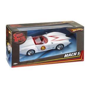 【送料無料】模型車 スポーツカー マテルホットホイールスピードレーサーマッハモデルカーバージョンmattel hot wheels m5978 2008 speed racer mach 5 model car movie version 124th