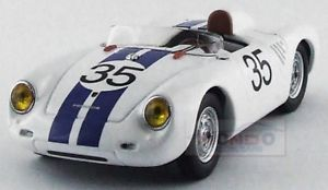 【送料無料】模型車 スポーツカー ポルシェスパイダー#クラスルマンベストモデルporsche 550rs spider 35 winner class le mans 1957 hugus best 143 be9619 model