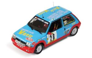 【送料無料】模型車 スポーツカー ルノーターボラリーモンテカルロ#143 renault 5 gt turbo rally monte carlo 1988 26 emauffrey