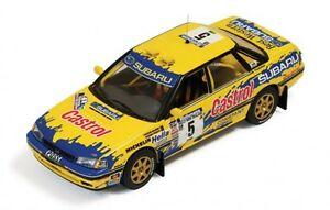 【送料無料】模型車 スポーツカー スバルレガシィラリーニュージーランド143 subaru legacy rs castrol rally zealand 1992 pbourne