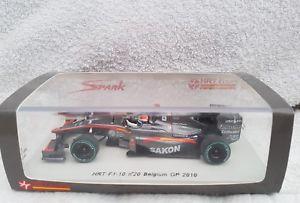 【送料無料】模型車 スポーツカー スパーク#ベルギーグランプリスケールspark s3011 hrt f110 20 belgium gp 2010 sakon yamamoto 143 scale