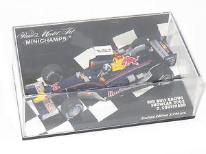 【送料無料】模型車 スポーツカー レッドブルレーシングコスワースクルサード143 red bull racing cosworth showcar 2005 dcoulthard