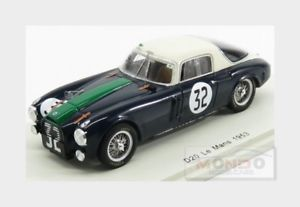 【送料無料】模型車 スポーツカー ランチアチームスクーデリアランチア#ルマンスパークlancia d20 27l v6 team scuderia lancia 32 24h le mans 1953 spark 143 s4723 mo