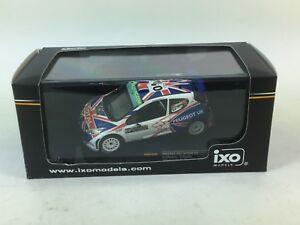 【送料無料】模型車 スポーツカー プジョープジョーラリーブラジル143 peugeot 207 s2000 peugeot uk irc rally brazil 2009 kmeeke pnagle
