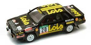 【送料無料】模型車 スポーツカー ラリーモデルカーnissan 240rs rally portogallo 1985 143 bizarre bz332 model car