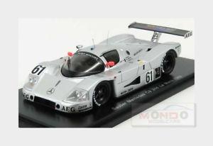 【送料無料】模型車 スポーツカー メルセデスベンツザウバー#ルマンバルディスパークモデルmercedes benz sauber c9 61 2nd 24h le mans 1989 mbaldi spark 143 s4762 model