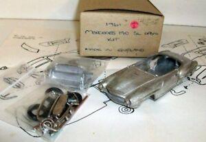 【送料無料】模型車 スポーツカー ノーブランドモデルスケールキットサムメルセデスベンツオープンキットunbranded model 143 scale unbuilt kit sam3 1961 mercedes benz 190 sl open kit