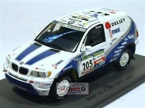 【送料無料】模型車 スポーツカー #ダカールスパークモデルbmw x 5 205 dakar 2003 143 spark sp0491 model