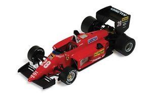【送料無料】模型車 スポーツカー フェラーリラストーリアコレクションフェラーリブラジルferrari la storia 143 collection ferrari 15685 brazilian gp 1985 rarnoux