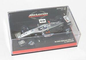 【送料無料】模型車 スポーツカー マクラーレンデビッドクルサードシーズン143 mclaren mercdes mp417 david coulthard  2002 season