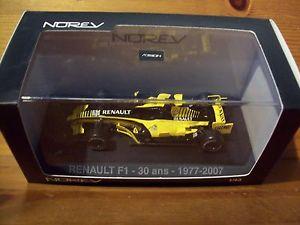 【送料無料】模型車 スポーツカー ルノー143 norev 518970 renault f1 30 years 19772007
