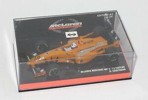 【送料無料】模型車 スポーツカー 143マクラレンメルセデスmp4121997デビッドクルサード143 mclaren mercedes mp412 testcar 1997 david coulthard