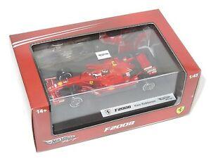 【送料無料】模型車 スポーツカー フェラーリシーズンキミライコネン143 ferrari f2008  2008 season kimi raikkonen
