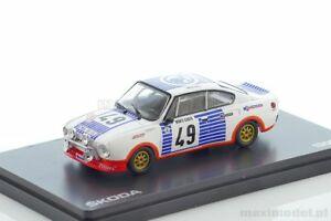 【送料無料】模型車 スポーツカー シュコダルピーskoda 130rs blahna rmc 1977 143 abrex abr143xabs501ta