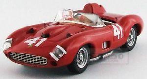 【送料無料】模型車 スポーツカー フェラーリスパイダー#マイルロードアメリカヒルアートモデルアートferrari 315s spider 41 500 miles road america 1957 phill art model 143 art340