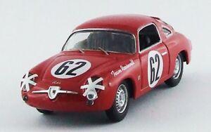 【送料無料】模型車 スポーツカー フィアットアバルトセブリング#ベストモデルfiat 750 abarth 12h sebring 1959 cussinicattini 62 best 143 be9617 model