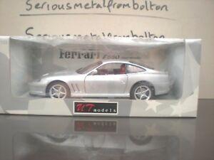 【送料無料】模型車 スポーツカー listingut 22122フェラーリ550 maranelloシルバー118 listingut 22122 ferrari 550 maranello silver 118