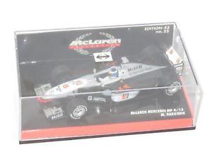 【送料無料】模型車 スポーツカー 143マクラレンメルセデスmp413 1998シーズンミカハッキネン143 mclaren mercedes mp413  1998 season mika hakkinen